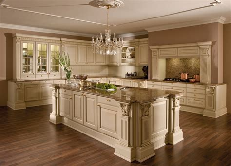 Kitchen Island Decoration by Versailles De Luxe Laque Style Traditionnel Cuisines