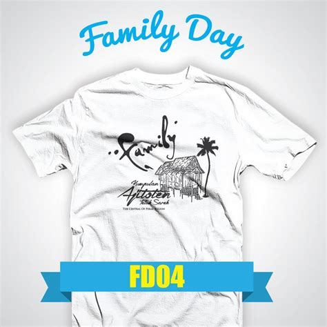 design baju family day 2017 tshirt family day