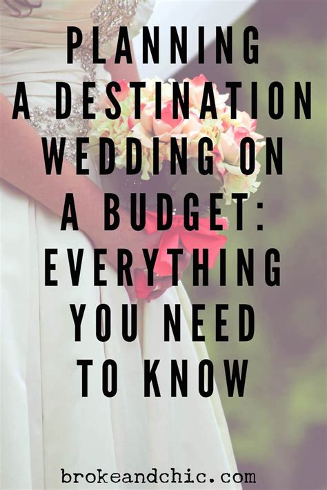 how to plan a destination wedding on small budget how to plan a destination wedding on a budgetbroke and chic