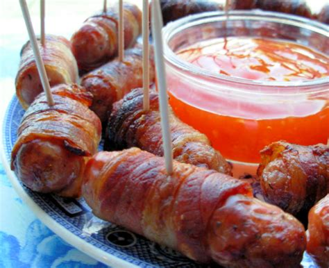 Piggy In Blanket Recipe by Pigs In Blankets Bacon And Sausage Rolls For