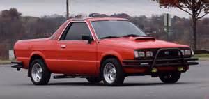Subaru Truck Subaru Brat Is More Than A Volvo 240 Says Regular