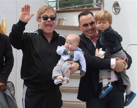 elton john and husband sir elton john and husband david furnish spend quality