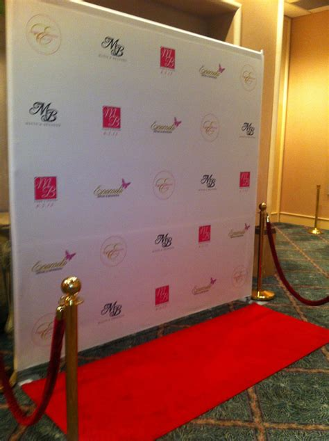 backdrop design red carpet neu events blog for the knot s hawaii site wedding trend