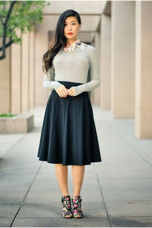 Sale Blouse Combi Go black skirts salmon gypsy05 tops black