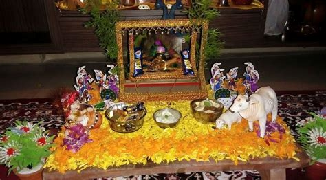 janmashtami decoration ideas pooja room designs