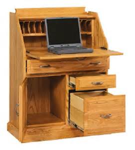 Secretary Desk With File Drawer Amish Secretary Desk With File Cabinet Drawer