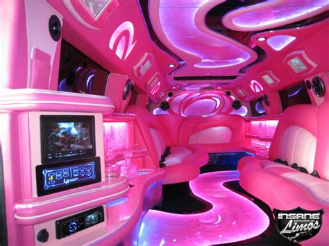 pink car interior pink cool of cars quot limo hummer quot limousin