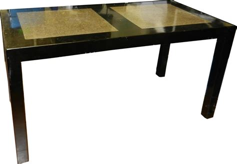 Granite Inlay Dining Table Desk