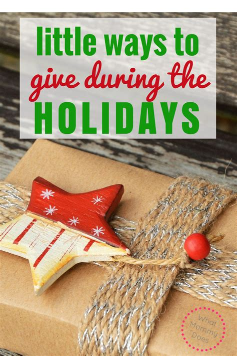 charities during christmas ways to give during the holidays throughout the year what does