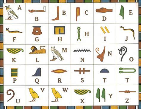 printable hieroglyphic alphabet chart printable hyroglyphics new calendar template site