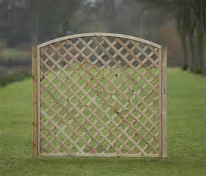 arched framed diagonal trellis 180cm