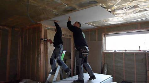 speksteen platen gyproc plafond 4x aba platen plaatsen youtube