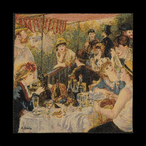 luncheon of the boating party theme luncheon of the boating party by pierre auguste renoir