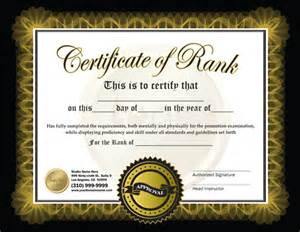 martial arts certificate template free martial arts certificate template images gallery