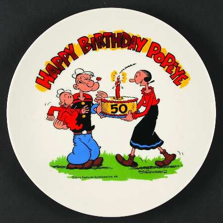 Happy Birthday Popeye by Lynell Popeye S 50th Anniversary At Replacements Ltd