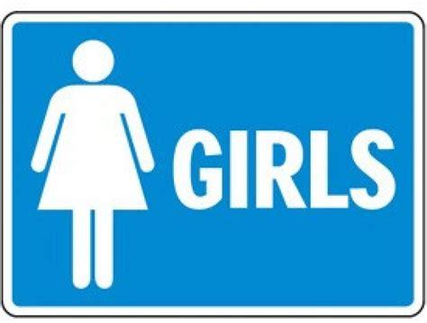 bathroom video clip girls bathroom sign clipart best