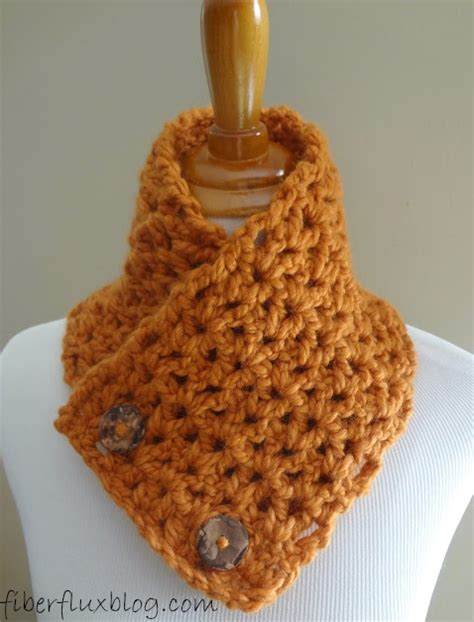 cute neckwarmer pattern fiber flux free crochet pattern butternut squash