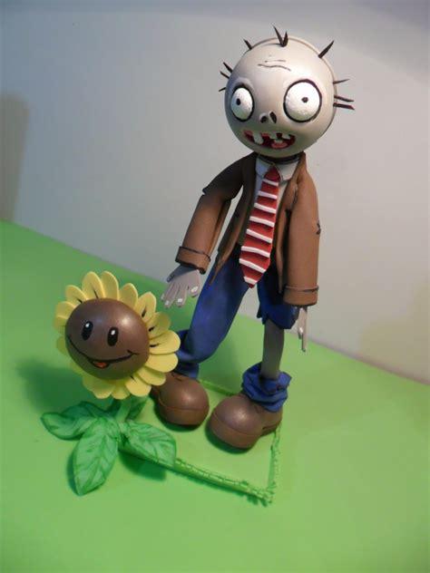 moldes plata vs zombie para muecos de goma eva fofucho plantas vs zombies con girasol
