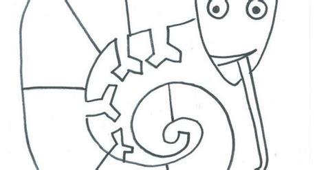 chameleon coloring page pdf mixed up chameleon freebie pdf pdf art ideas pinterest