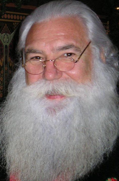 real bearded santa claus the hair line is great i need