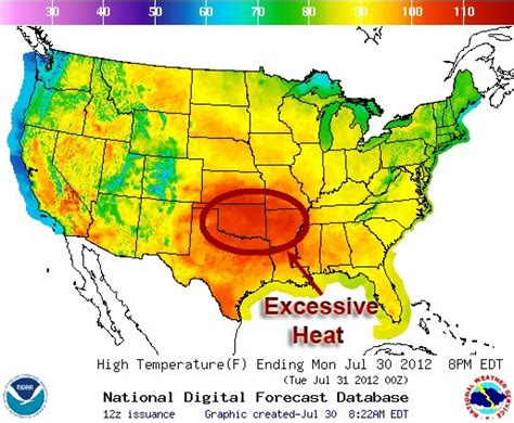 map of us by temperature us temperature map forecast cdoovision