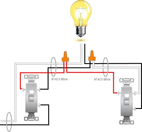 three way l switch 3 way switch wiring diagram variation 5 electrical