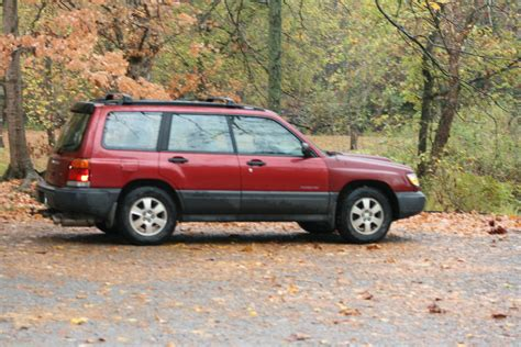 red subaru forester 2000 subaru forester sf 2000 specifications description