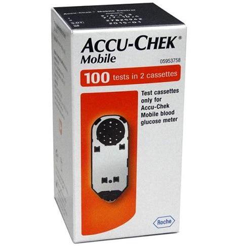 accu chek mobile accu chek mobile blood glucose strips