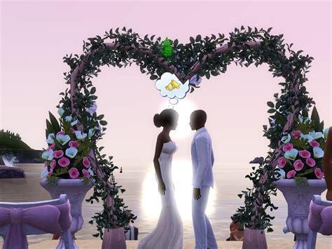 Beautiful Wedding   The Sims 3 Wallpaper (25684649)   Fanpop