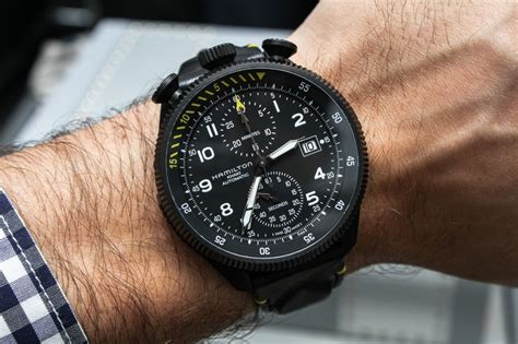 Suunto Fullblack hamilton khaki takeoff limited edition on
