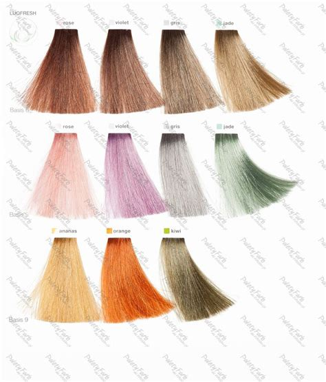 loreal hair color chart ginger the 25 best loreal hair color chart ideas on pinterest
