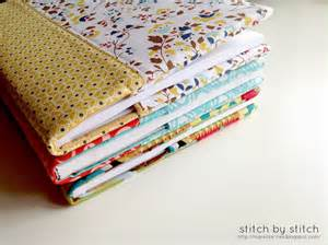stitch by stitch fabric book cover tutorial
