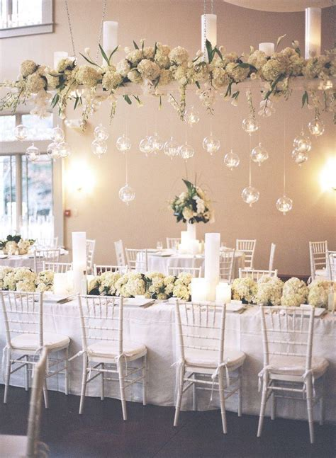 25 white wedding decoration ideas for romantic wedding
