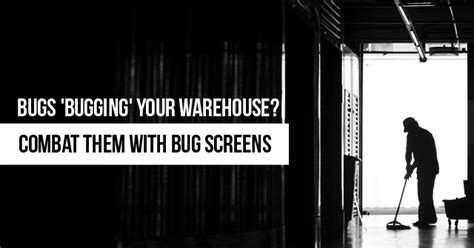 door fans to keep bugs out combat bugs in your warehouse with bug screens