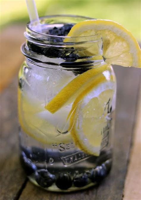Blueberry Lemon Detox Water 45 best infused water images on infused waters