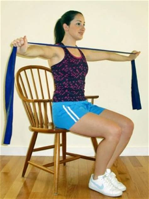 Chair Exercises With Bands by Exercises You Can Do At Your Desk Flats Chairs And Exercise