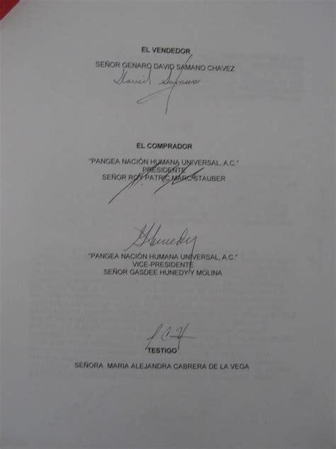humana universal a c contrato compra venta entre pangea y david pangea naci 243 n humana universal a c contrato compra