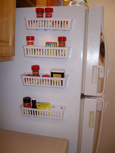 Fridge Spice Rack magnetic spice rack for refrigerator enjoy