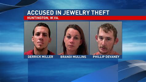 Huntington Wv Arrest Records Arrest Three Suspects In Huntington Jewelry Store Theft Wchs