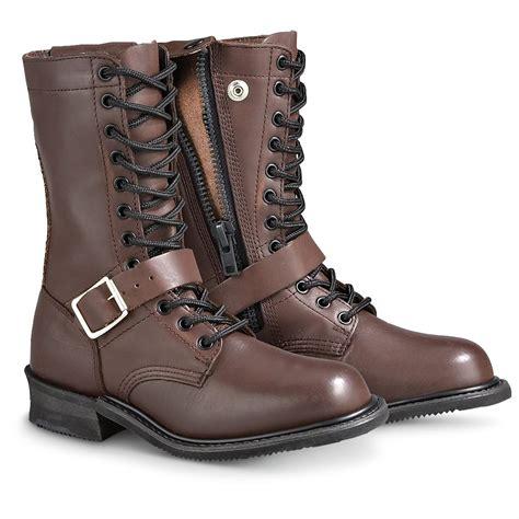 s h 174 fashion jump boots brown