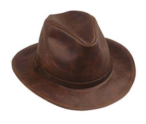 Cowhide Cowboy Hats - henschel mens safari crushable waxed cowhide cowboy hat