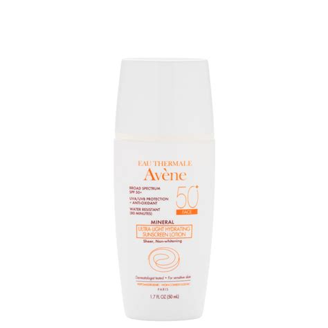 Eau Thermale Avene Mineral Ultra Light Hydrating Sunscreen