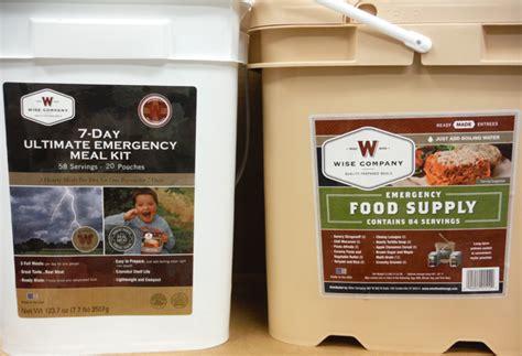 Shelf Stable Foods by Wise 7 Day Emergency 112 Reg 144 Breakfast Entree 84