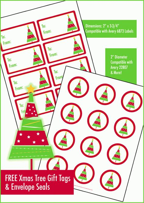 printable envelope seals free printable christmas tree gift tags envelope seals