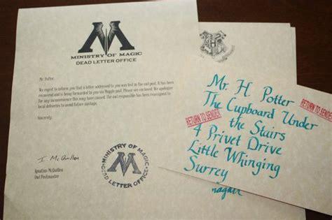 Harry Potter Lost Acceptance Letter Custom Lost Hogwarts Acceptance Letter By Owlpostmaster