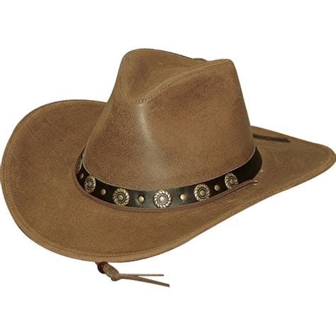 Cowhide Cowboy Hats - s cowhide leather cowboy hat leather bound