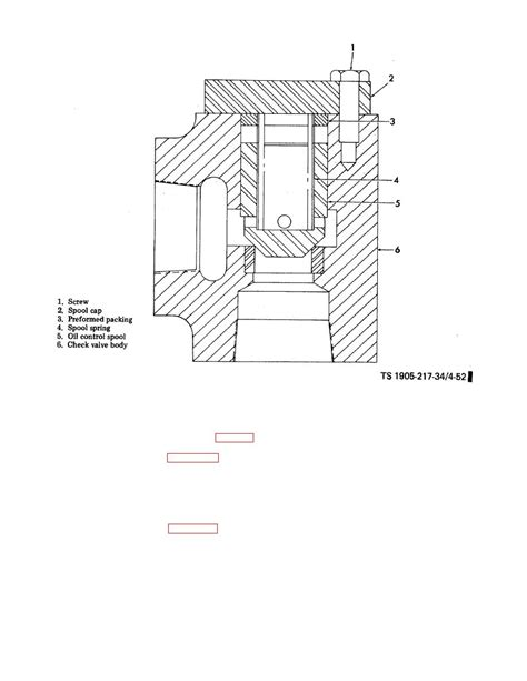 check section figure 4 52 r hydraulic check valve cross section view