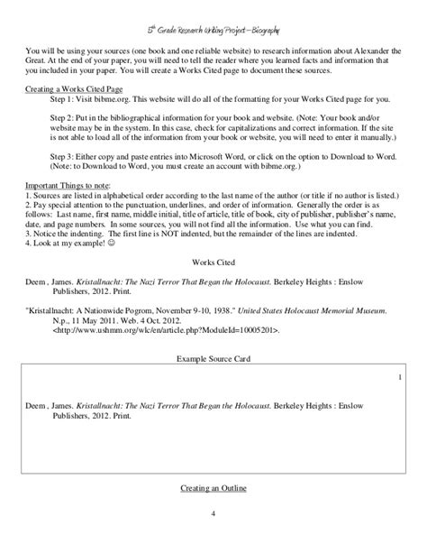 biography book report exles biography book report outline template