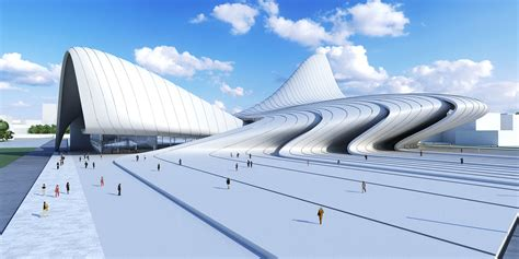 zaha hadid the future was via zaha hadid architects baku