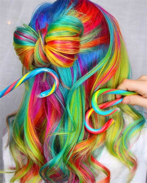 bright color ombre hairstyles de 5156 b 228 sta colourful hair inspiration bilderna p 229 pinterest
